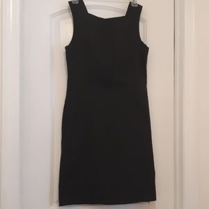 Banana republic Black stretch material dress